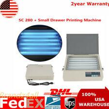 Protable Precise UV Exposure Unit Screen Drawer Printing Machine SC 280 50W US