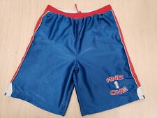 #192 Vintage And 1 Reversible Basketball Shorts Red White Sports NBA
