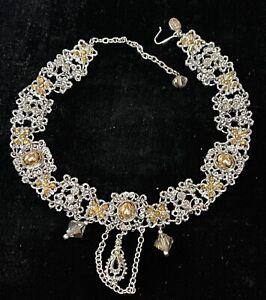 KIRKS FOLLY signed jewelry necklace