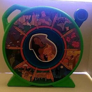 See 'n Say by Mattel 1989 Disney Pocahontas Interactive Speaking Toy WORKS