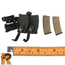 Gemini Vicky - Leg Pouch w/ 2 AR15 Mags - 1/6 Scale - Damtoys Action Figures