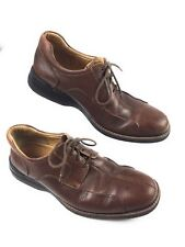 Johnston & Murphy Shuler 20-7223 Leather Bicycle Toe Oxford Shoes Mens 10.5M