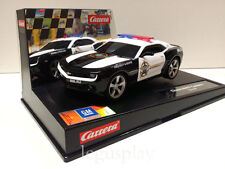 "Slot car SCX Scalextric Carrera  27523 Evolution Chevrolet Camaro ""Sheriff"""