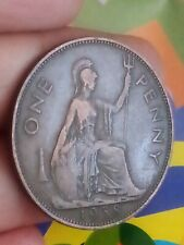 1938 Great Britain One Penny KM# 845 British GEORGE VI coin GL20-1
