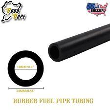 "10mm /04"" Car Full Silicone Oil Fuel Air Vacuum Hose Line Pipe Tube Black 5ft"