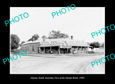 OLD LARGE HISTORIC PHOTO GLYNDE SOUTH AUSTRALIA, VIEW OF THE GLYNDE HOTEL c1901