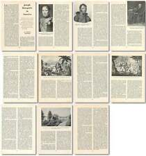 1959 Joseph Bonaparte In America Old Article