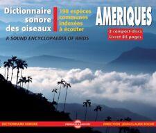 CD Dictionnaire Sonore Des Oiseaux D'Amerique