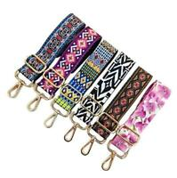 Ethnic Adjustable Shoulder Bag Strap Replacement Crossbody Handbag Handle Belt