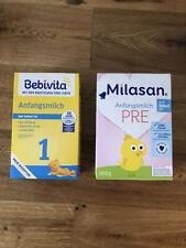 MILASAN BEBIVITA ANFANGSMILCH PRE 1kg Baby Geburt Folgemilch