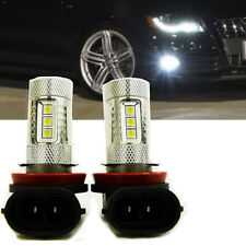LED Fog Light Upgrade Bulbs (Pack of 2) Designed For Audi B8.5 A4 S4 2013-2015