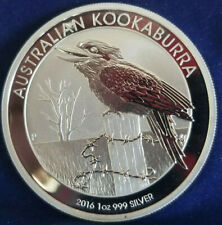 """NICE"" 2016 1 OZ Silver Australian Kookaburra Perth Mint .999!! Etra Fine BU"