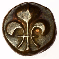 French Colonial India: Pondichery Doudou ND (1720-1835) ~ KM#35 Good Grade
