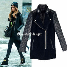 Wool Blend Winter Regular Size Coats & Jackets for Women