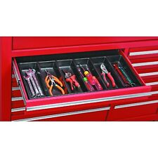 6 compartment Drawer Organizer for tools-Nails- Tackle -Wrenches-Garage