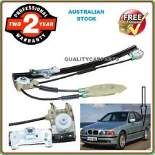 Power Window Regulator w/o Motor for BMW E39 520i 523i 528i 1996-1998 Rear Left