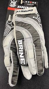 """NEW"" Brine Dynasty Lacrosse Gloves Size Medium"