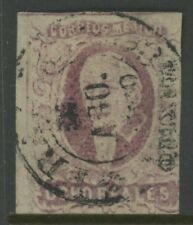 MEXICO, USED, #5, MEXICO DISTRICT AND CANCEL, OCHO REALES, GREAT 4 MARGINS, NICE