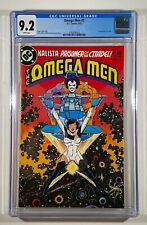 Omega Men #3 CGC 9.2 1st Appearance of Lobo White Pages 1983 DC Comics