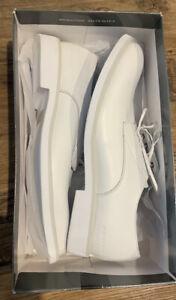 g star Morton Mono White Leather Mens Shoe Us 13