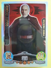 Force Attax Star Wars 1 (2012, blau), Count Dooku (238) Force Meister