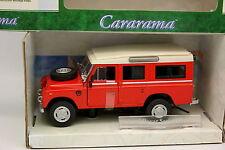 Cararama Oliex 1/43 - Land Rover 109 Rojo