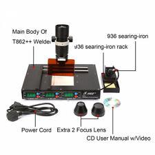 T862++ BGA Infrared Rework Station Soldering SMT SMD IRDA Welder Machine DE Neu