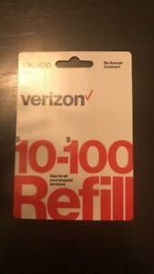 Unlimited Plan - Verizon Wireless Prepaid $30 Refill Top Up (RTR Direct Load)