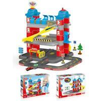 Dolu Kids 3 Level Garage Car-Park Toy Car Play Set Track Boys Girls Indoor Toy