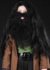 Niños Negro Estilo Hagrid tupida Peluca Y Barba
