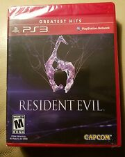 RESIDENT EVIL 6 (Sony PlayStation 3, 2012) PS3 NEW SEALED  (SHIPS FREE)