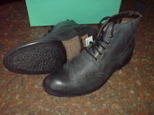 NEW MENS CLARKS  ** GOFOR IT  ** BLACKISH GREY BOOTS **  UK 10.5