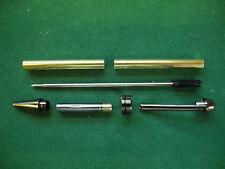 Woodturning EUROPEAN Ball Point Kit in Gun Metal Grey