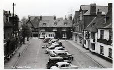 Market Place Oakham unused RP old postcard by Illsley
