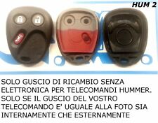 SOLO GUSCIO COVER PER CHIAVE TELECOMANDO HUMMER (SENZA ELETTRONICA)