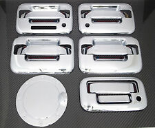09-14 FORD F150 4DR CHROME DOOR HANDLE + TAILGATE + GAS DOOR COVER + KEYPAD + KH