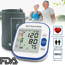 Blood Pressure Monitor Automatic Digital Wrist BP Cuff Machine Health Care Home