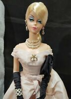 45th ANNIVERSARY SILKSTONE Fashion Model Barbie Doll Blush Becomes Her Outfit