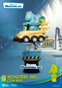 Beast Kingdom Disney D-Stage 037 - Monsters, inc, Coin Ride (Diorama Stage)