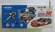 Jeremy Mayfield  2000  #12  Mobil 1 / MLB World Series  1/24  Action