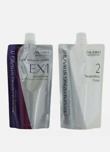 Shiseido Professional Crystallizing Straight EX Set For Resistant Hair
