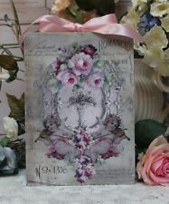 """Romance..."" ~ Shabby Chic Vintage French Country Cottage style Wall Decor Sign"