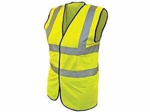 Scan WWHVWC13 High Visibility Waistcoat - Yellow  Child 10-13