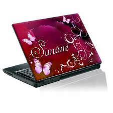 TaylorHe Calcomanía Vinilo Piel Etiqueta Engomada de la portátil personalizada con tu nombre P276