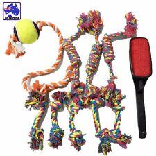 3x 23cm + 5x 16cm + 1x 45cm Chew Floss Rope Toy + 1x Lint Remover Brush PTOY03
