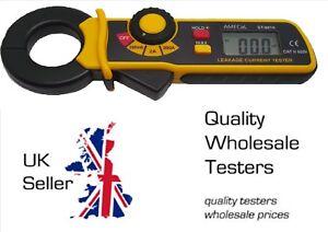 Mini AC Earth Leakage Current Clamp Meter Tester AMECaL ST-9810 Equiv: TEK775