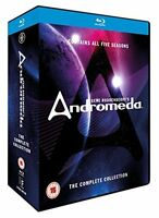 ANDROMEDA Complete Series [Blu-ray Box Set] Seasons 1-5 Collection Kevin Sorbo