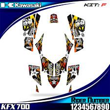 kawasaki kfx 700 kfx700 decals graphics stickers new full kit