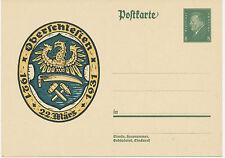DT.REICH 1931 Sonderpostkarte 10. Jahrestag der Volksabstimmung in Oberschlesien