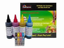 4+4 Refillable Ink Cartridge for Epson 126 Non-OEM NX330 NX430, WorkForce 60 435